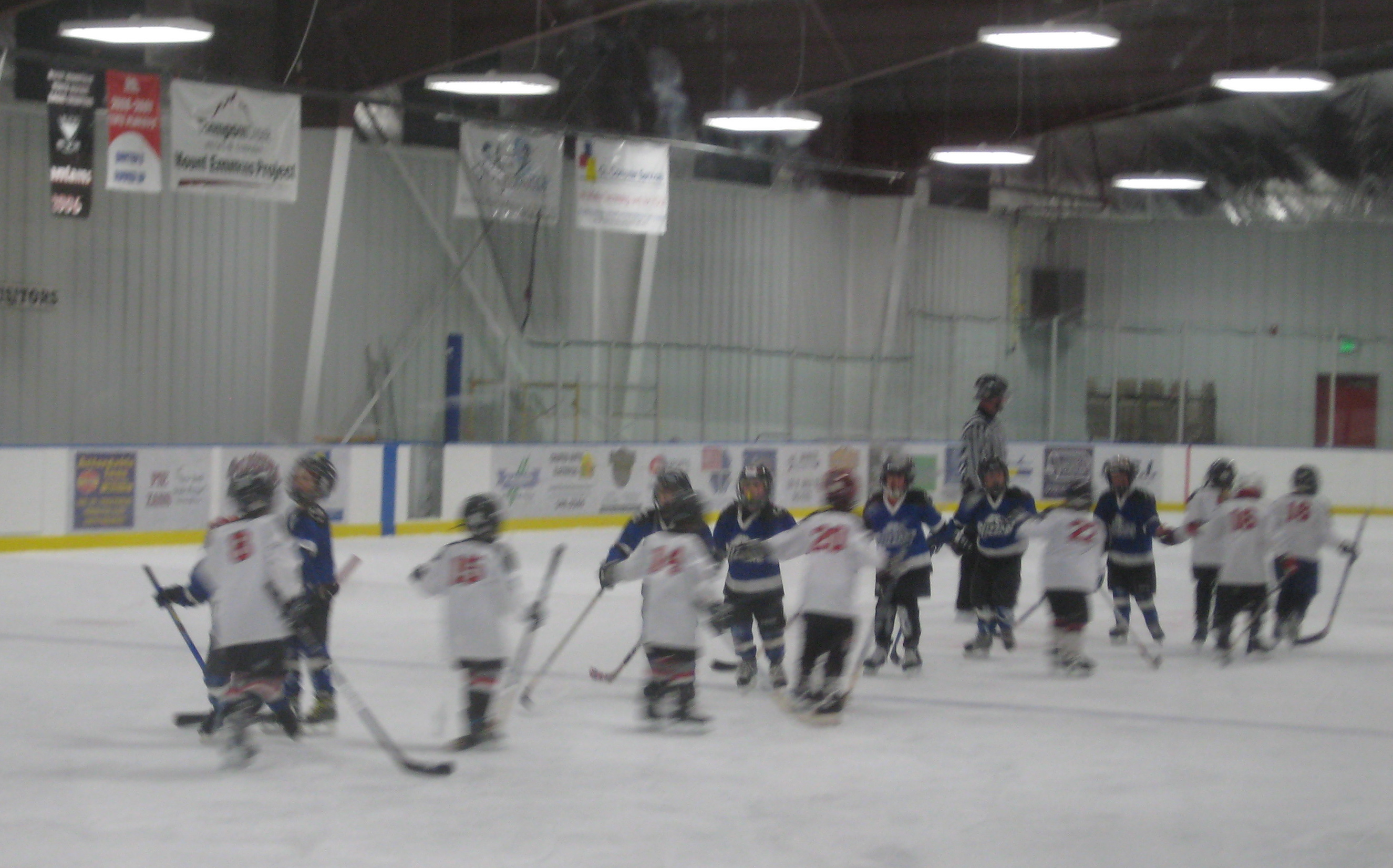 Gunnison children start hockey early