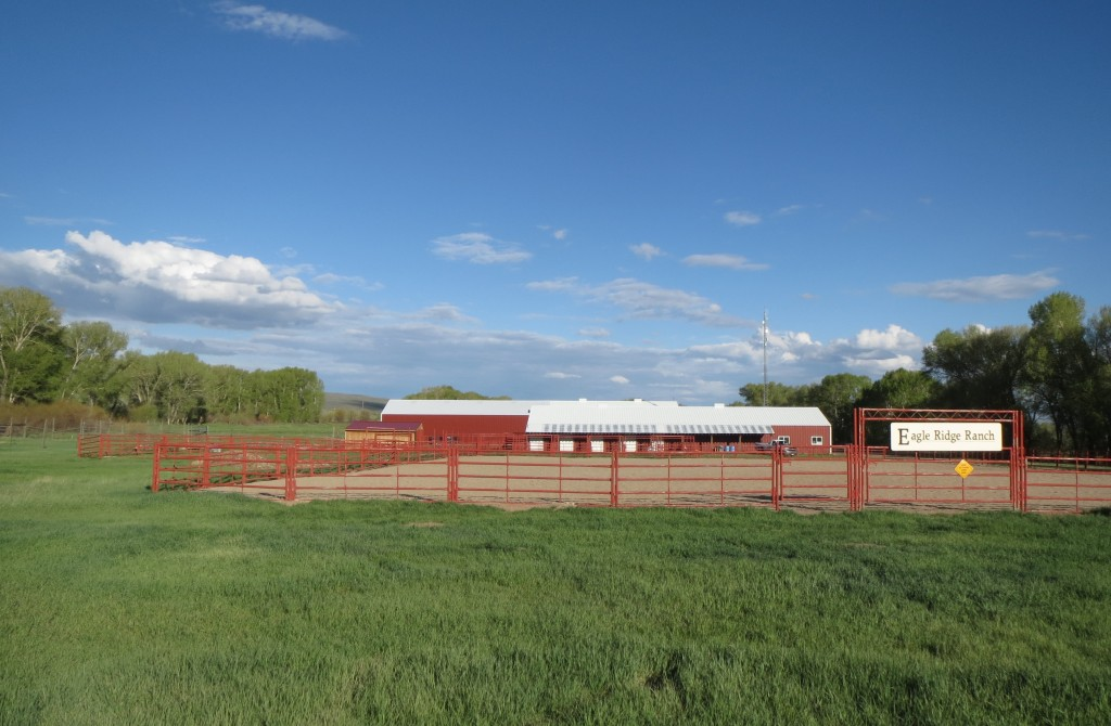 The Red Barn is the Eagle Ridge Ranch equestrian center.