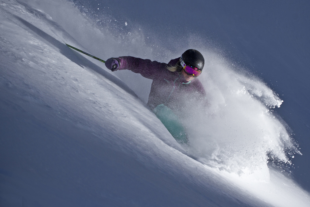 Powder snow is the best! There's lots of it at Mount Crested Butte